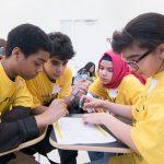 math contest students challange stations